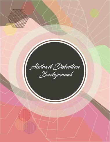 Abstract wallpaper with Transparent Border and space for text vector