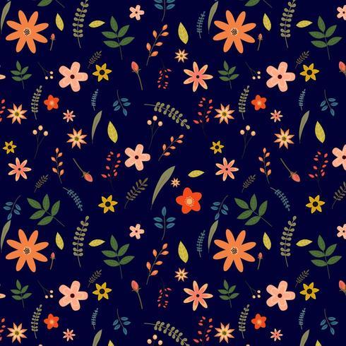 floral pattern design vector