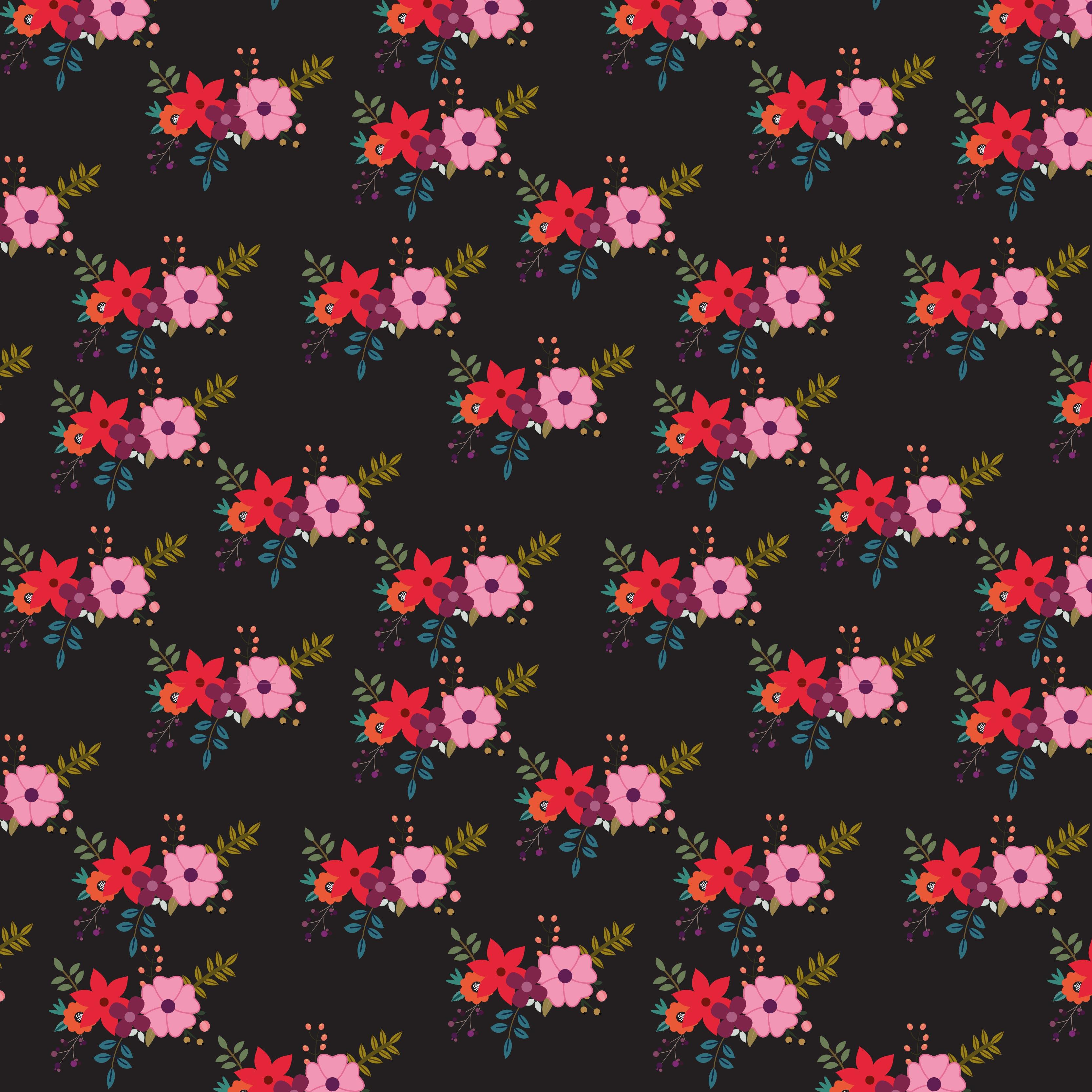 Dark Red Flowers Free Vector Art 166 Free Downloads