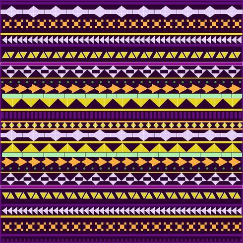 Sfondo colorato disegno tribale
