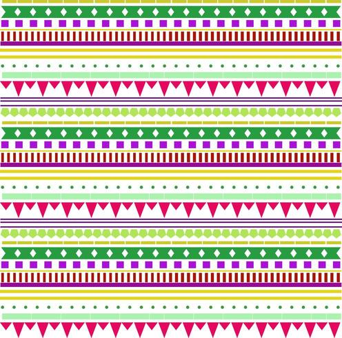 Bright tribal background  vector
