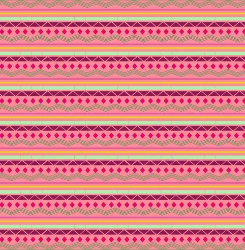 Modello di forme tribali rosa e rosso