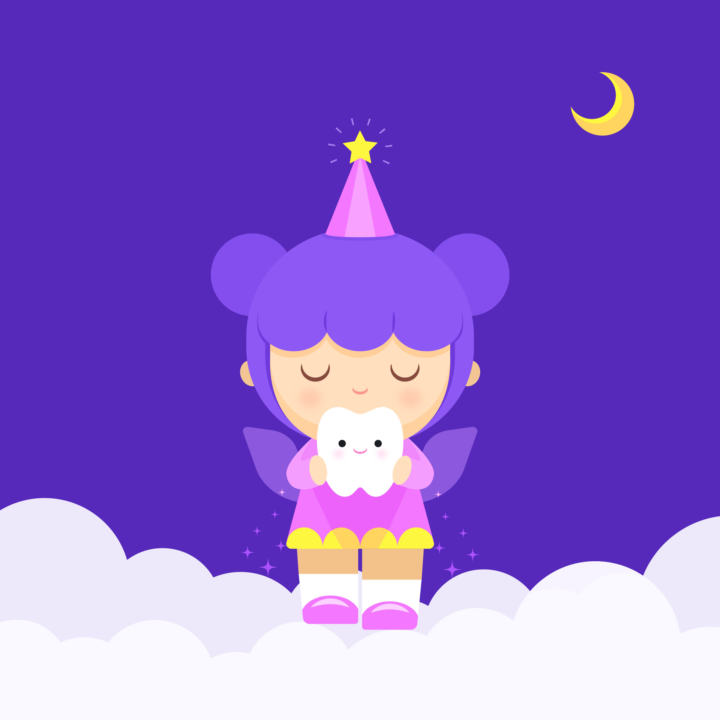 Tooth Fairy Free Vector Art - (90 Free Downloads)