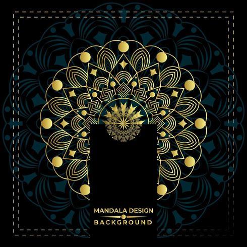 Very Nice Mandala Background Vector Design