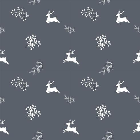 Winter holiday seamless repeat pattern  vector