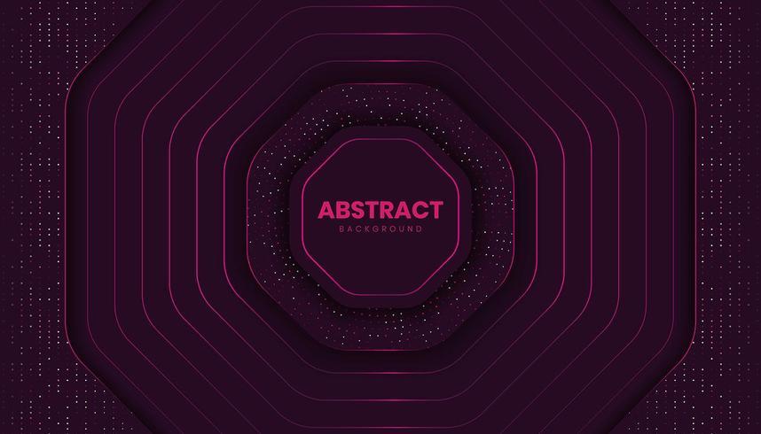 Fondo abstracto lujoso con brillo brillante vector