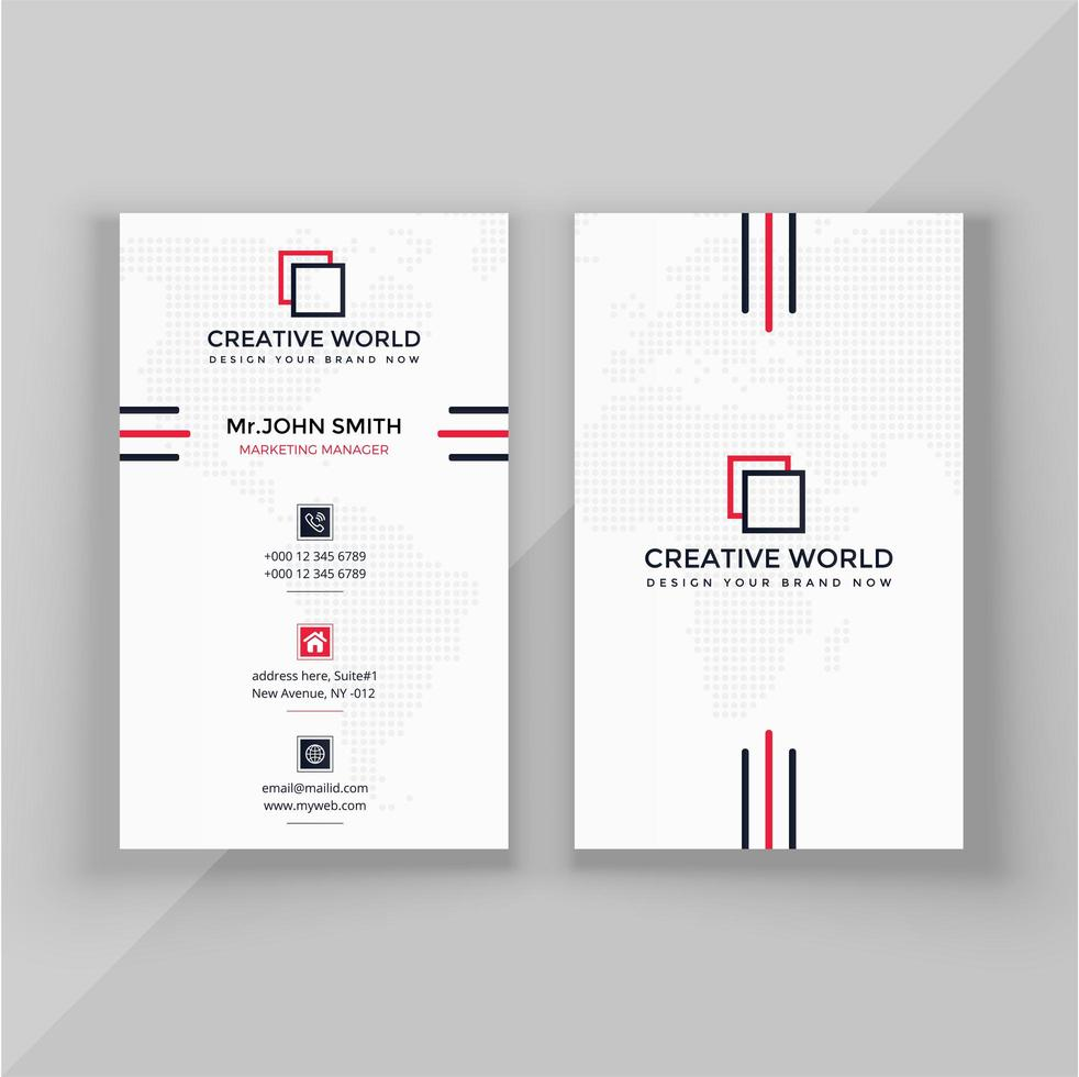Free Vertical Business Card Template from static.vecteezy.com