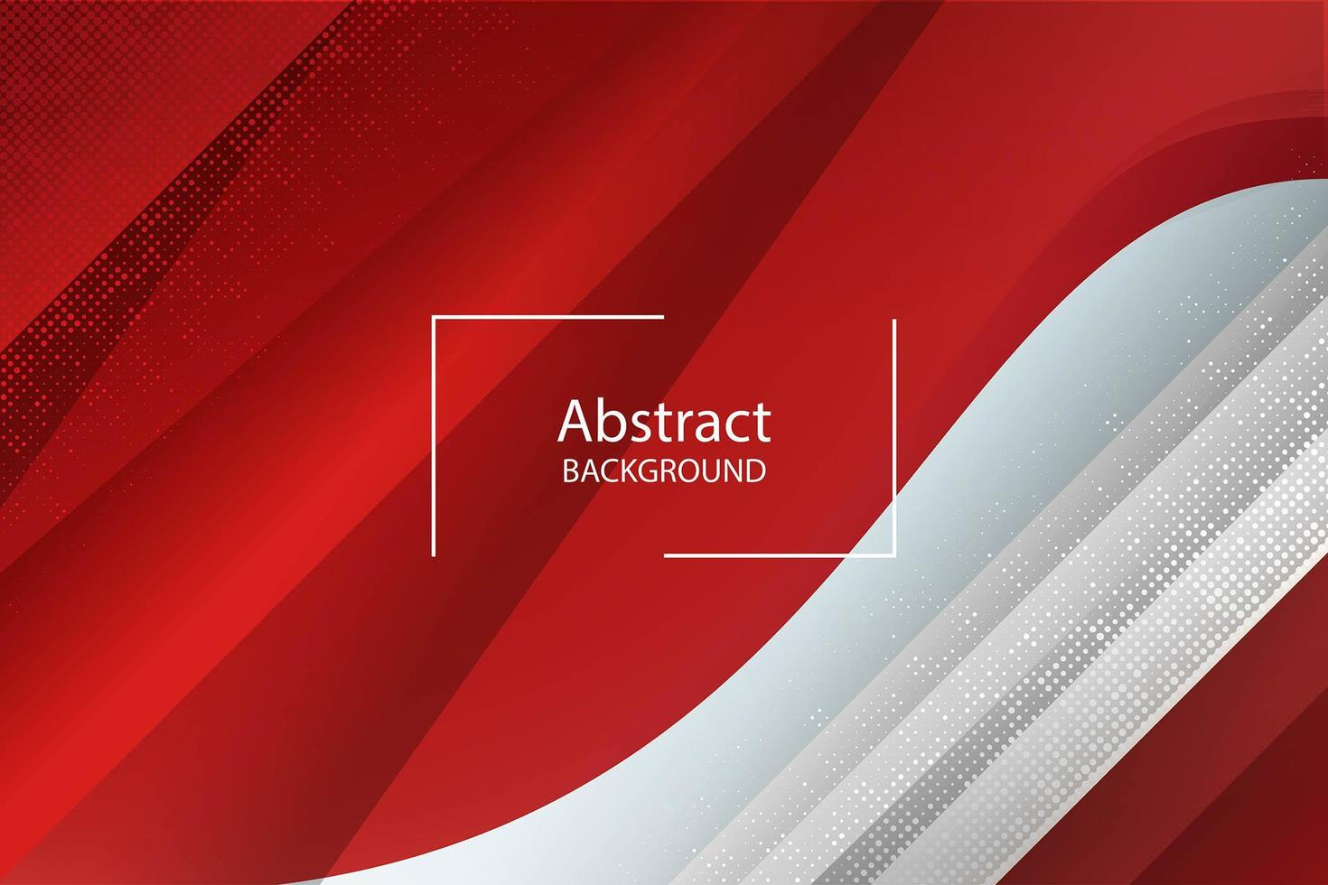 Luxury red geometric shape background