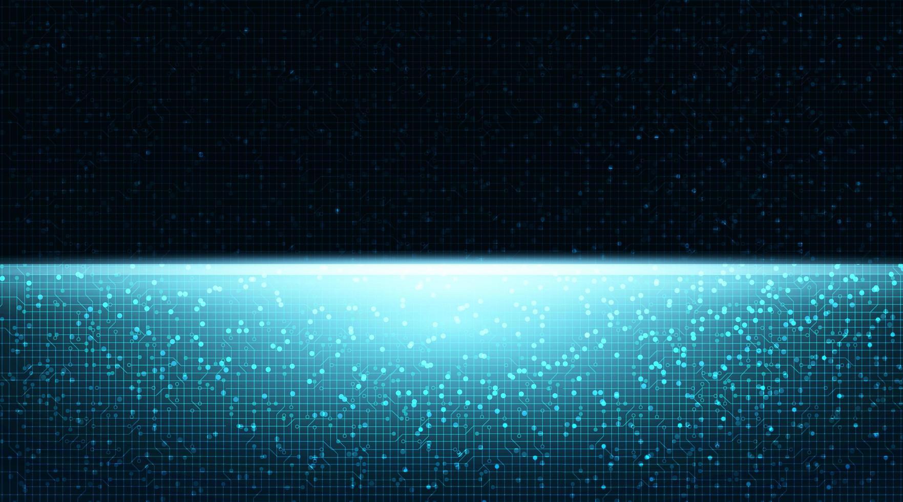 Heller Technologie-Hintergrund mit freiem Platz für Text vektor