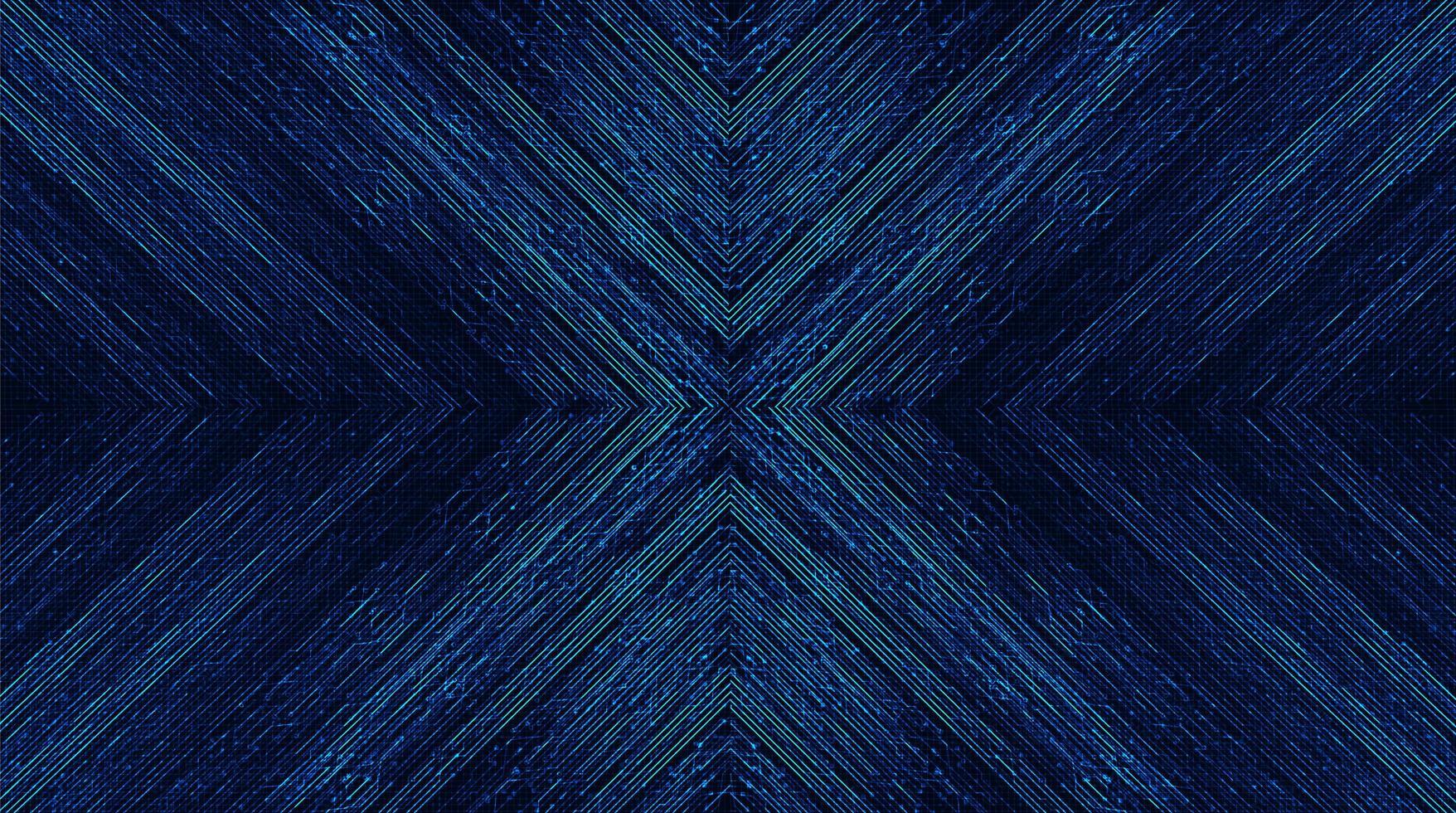 Abstrakt bakgrund för pilhastighetskretsteknologi. vektor