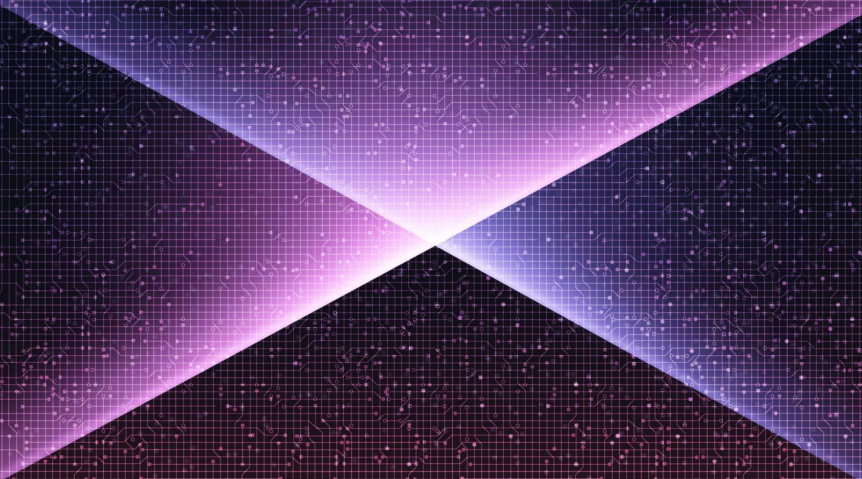 Ljus violett teknologibakgrund. vektor