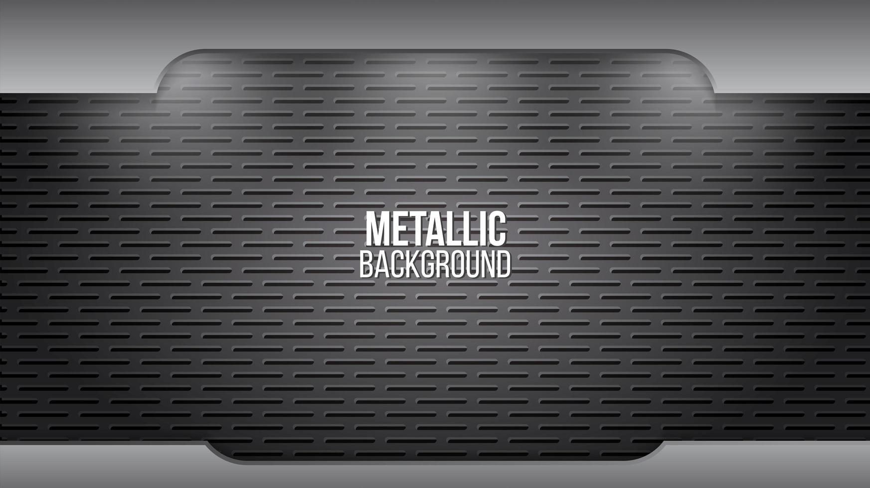 Metal background texture aluminium steel plates vector
