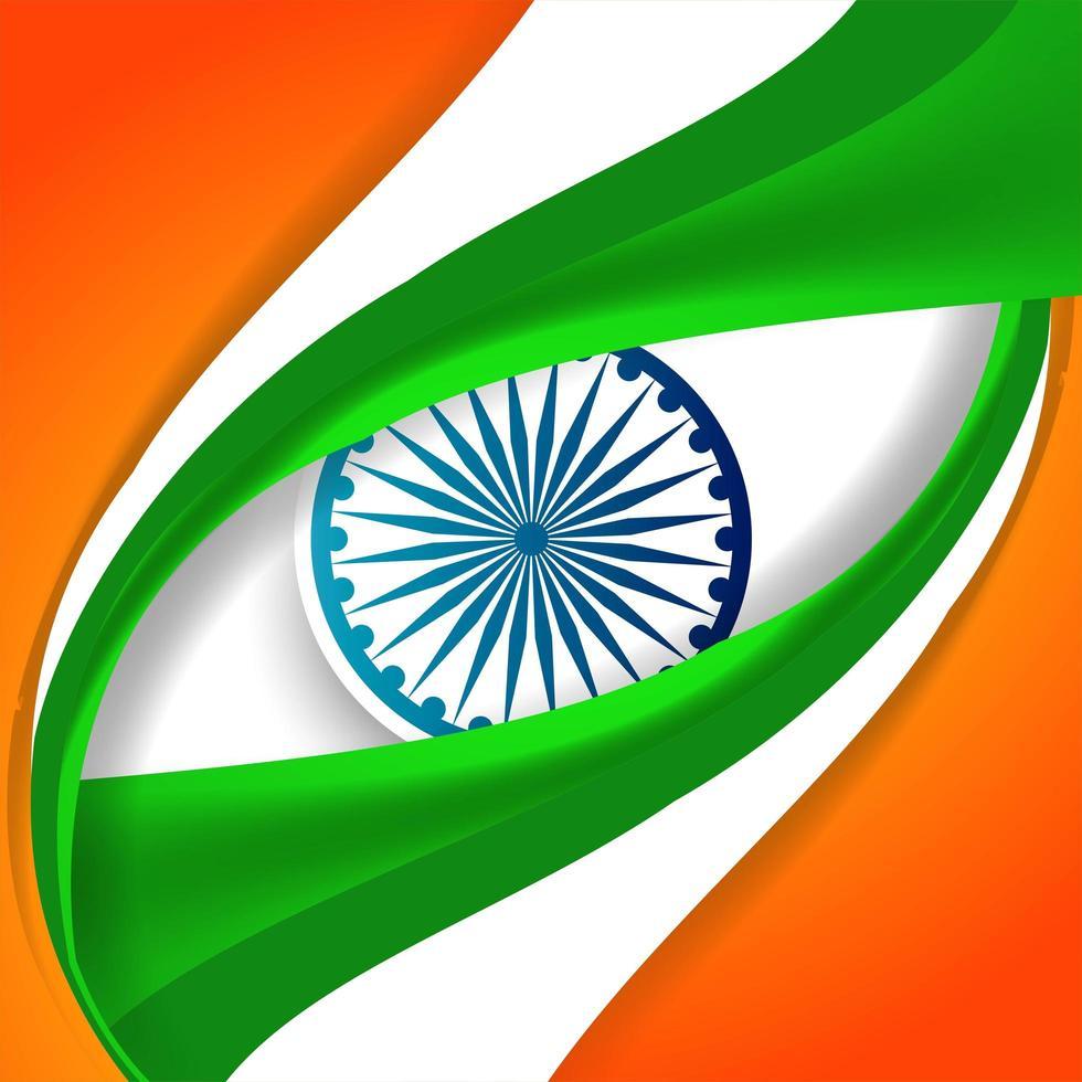 Sfondo bandiera indiana per la festa della repubblica