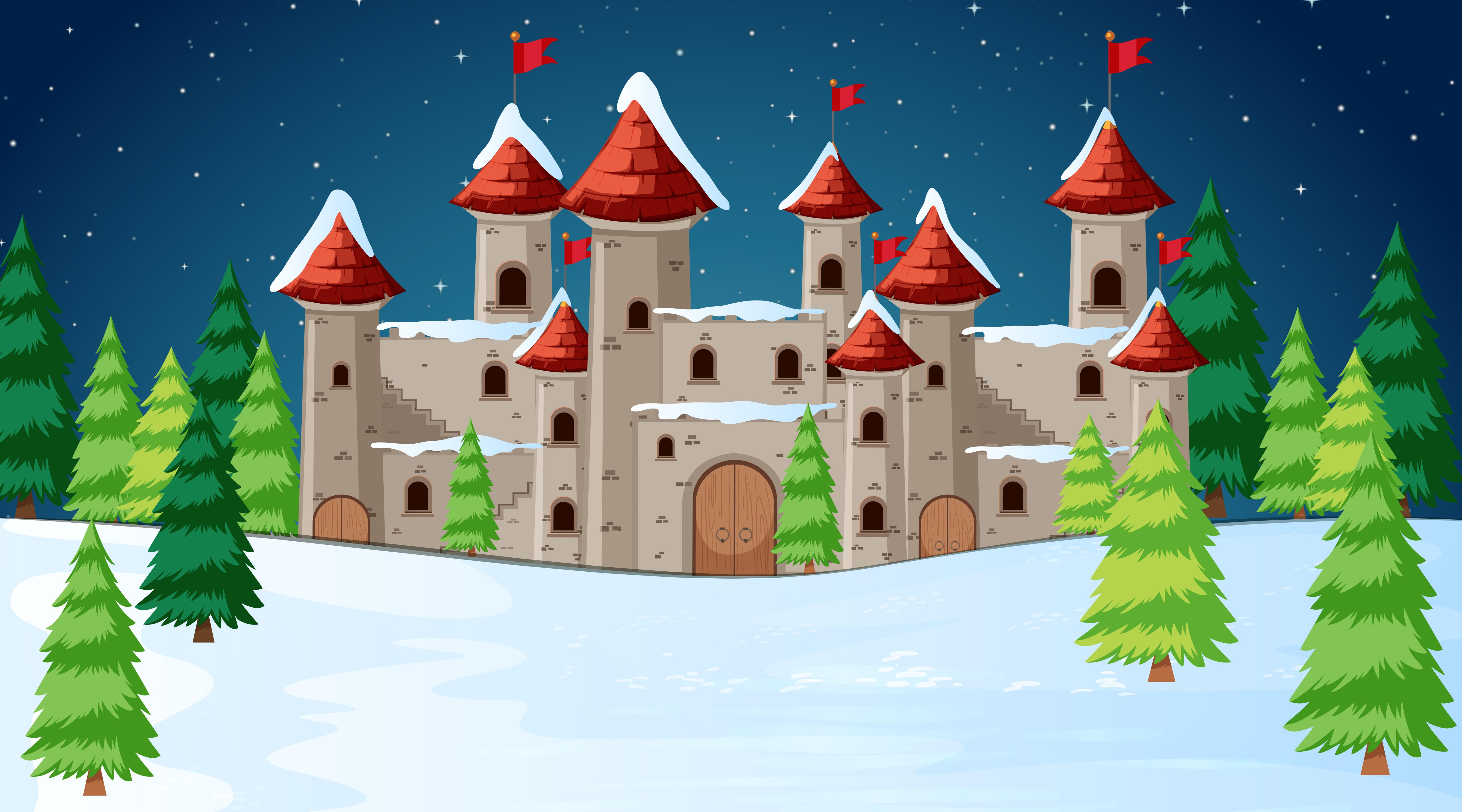 城堡手繪 免費下載   天天瘋後製