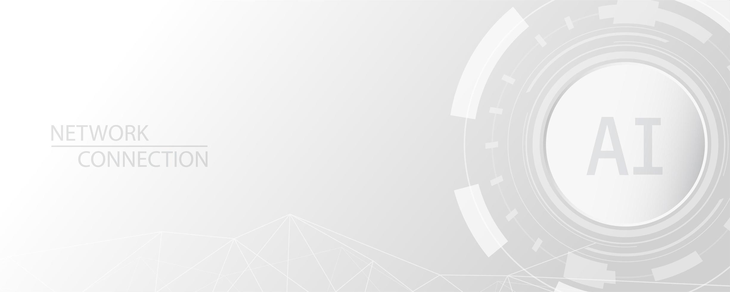 grijze en witte abstracte technische achtergrond vector
