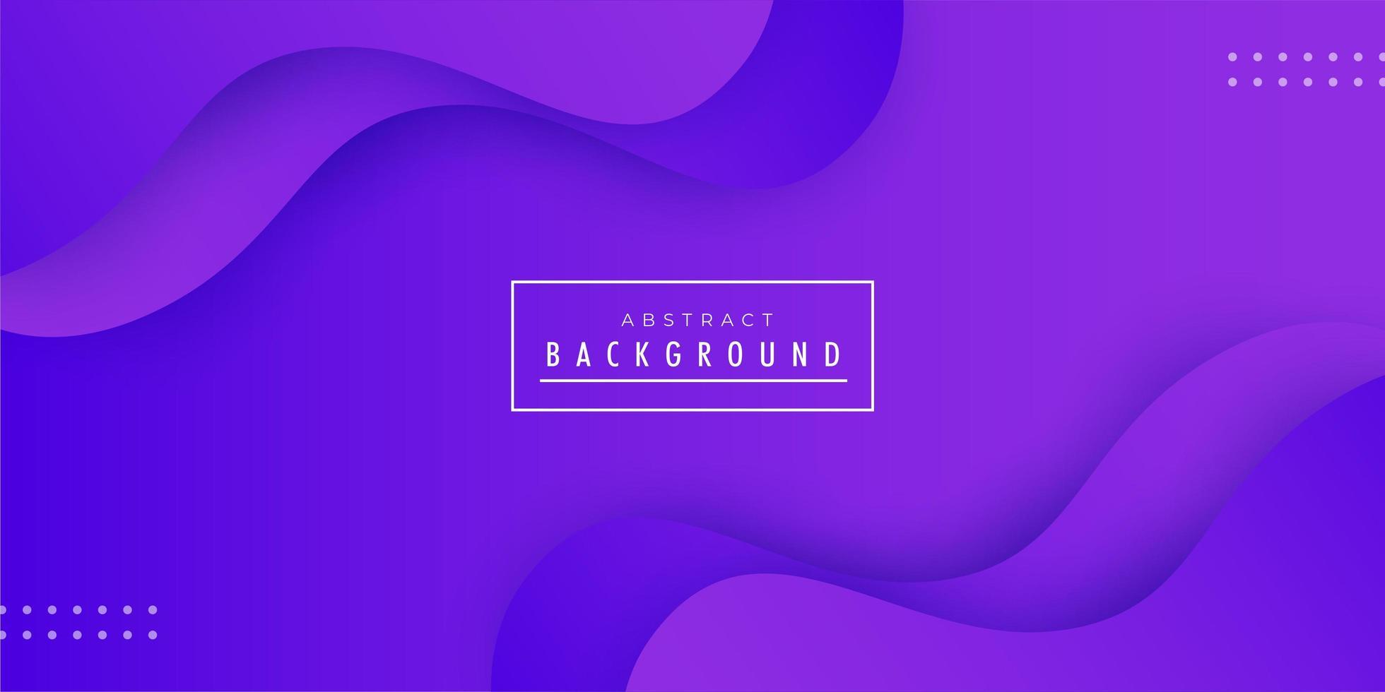 Diseño de fondo abstracto ola púrpura vector