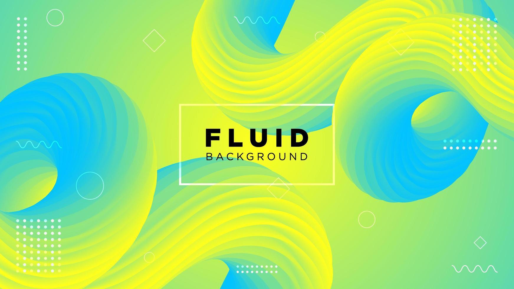 Movimiento moderno fondo degradado fluido vector