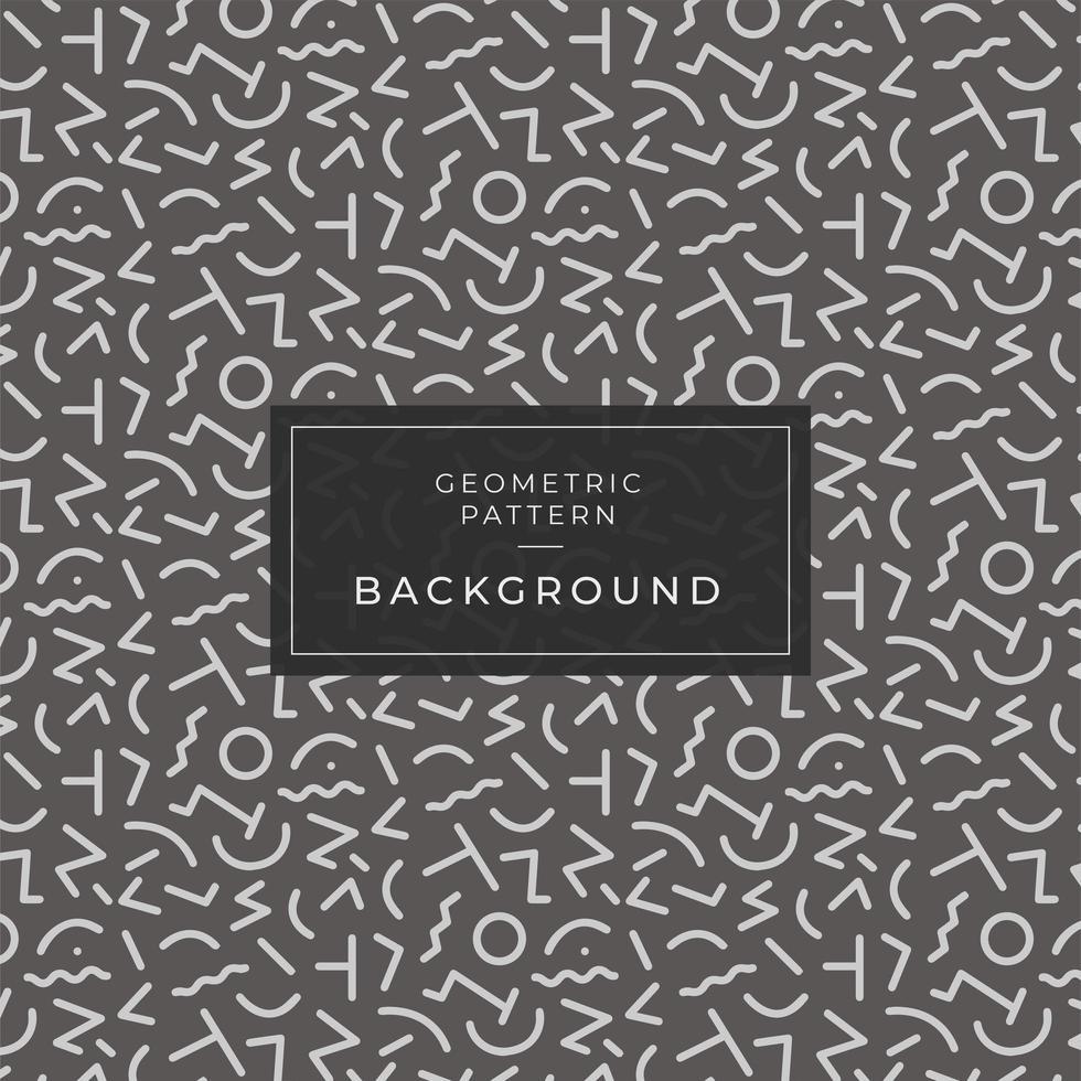 Geometric pattern memphis style background, shapes background