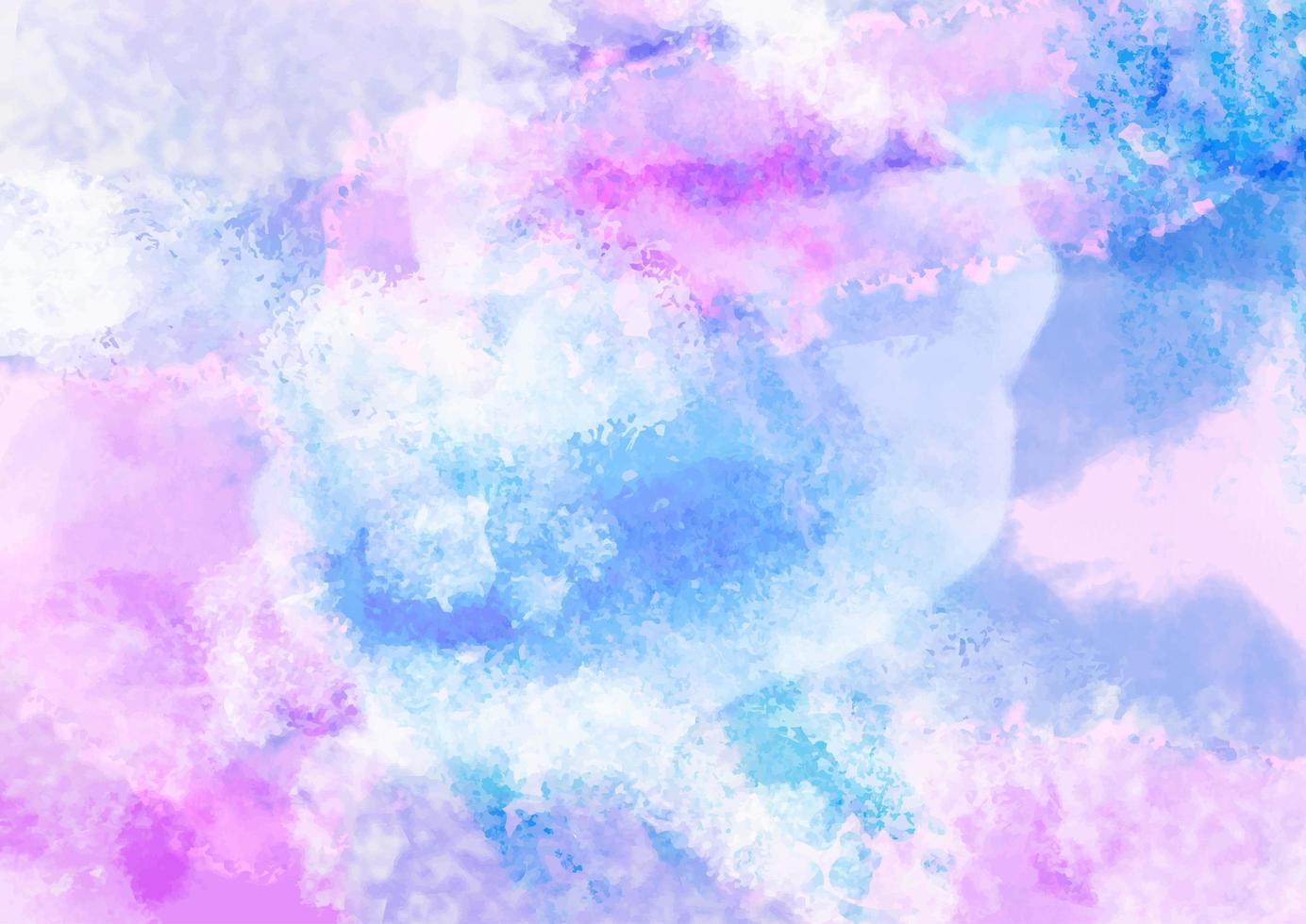 Pastell Aquarell Hintergrund vektor