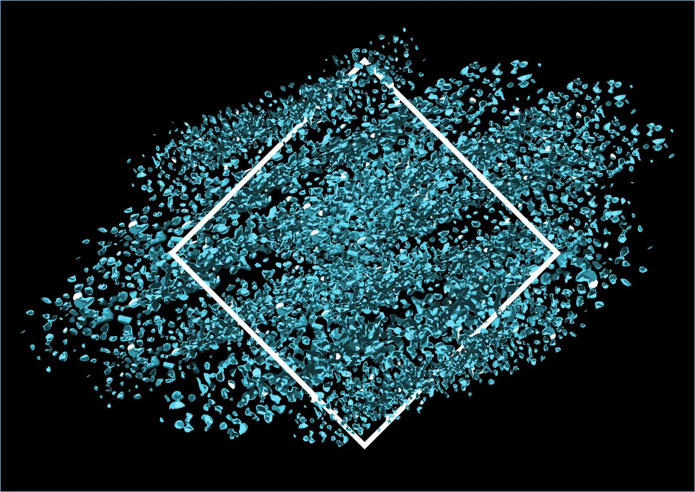 blå glitter bakgrund vektor