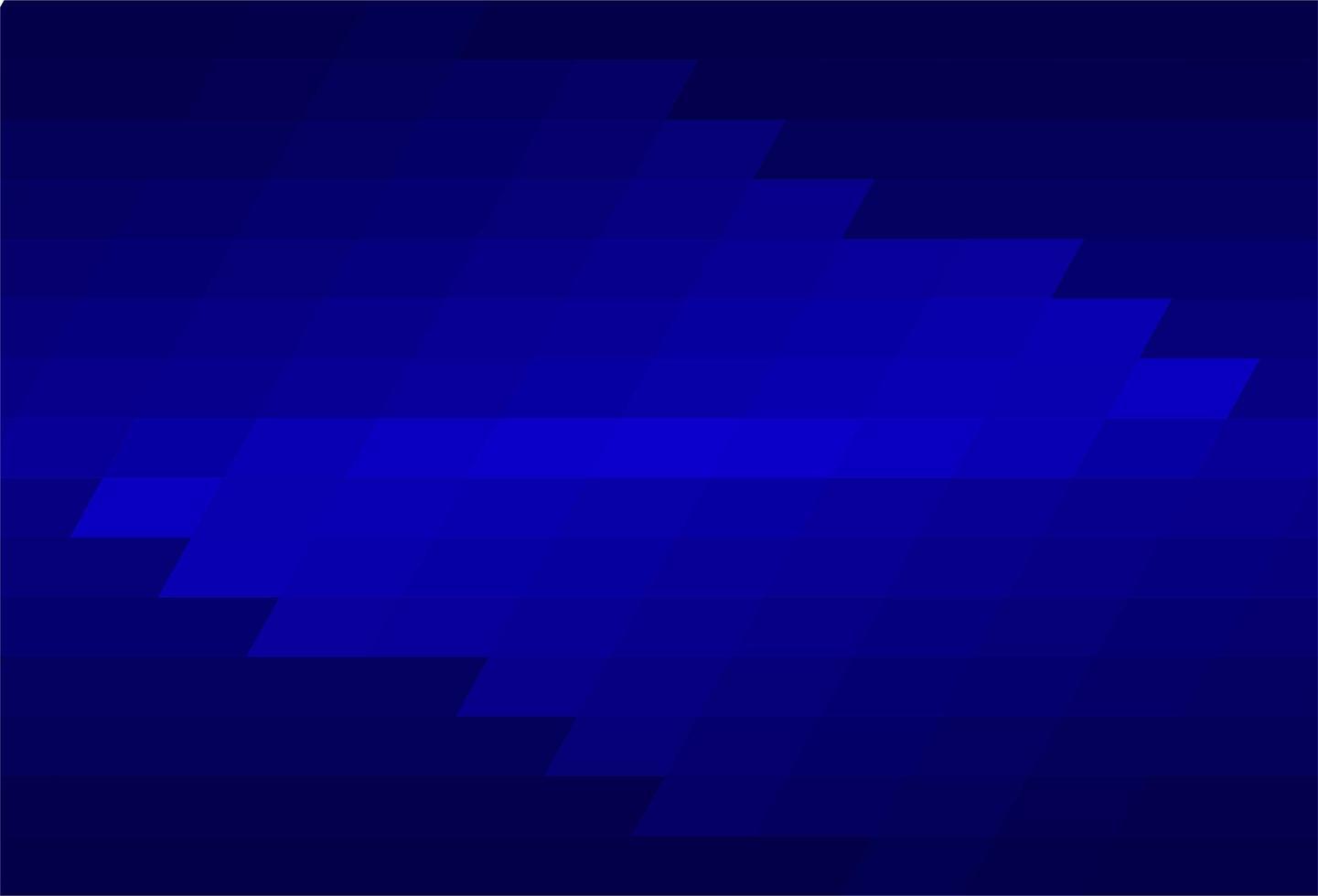 Triangle abstrait motif fond bleu vecteur