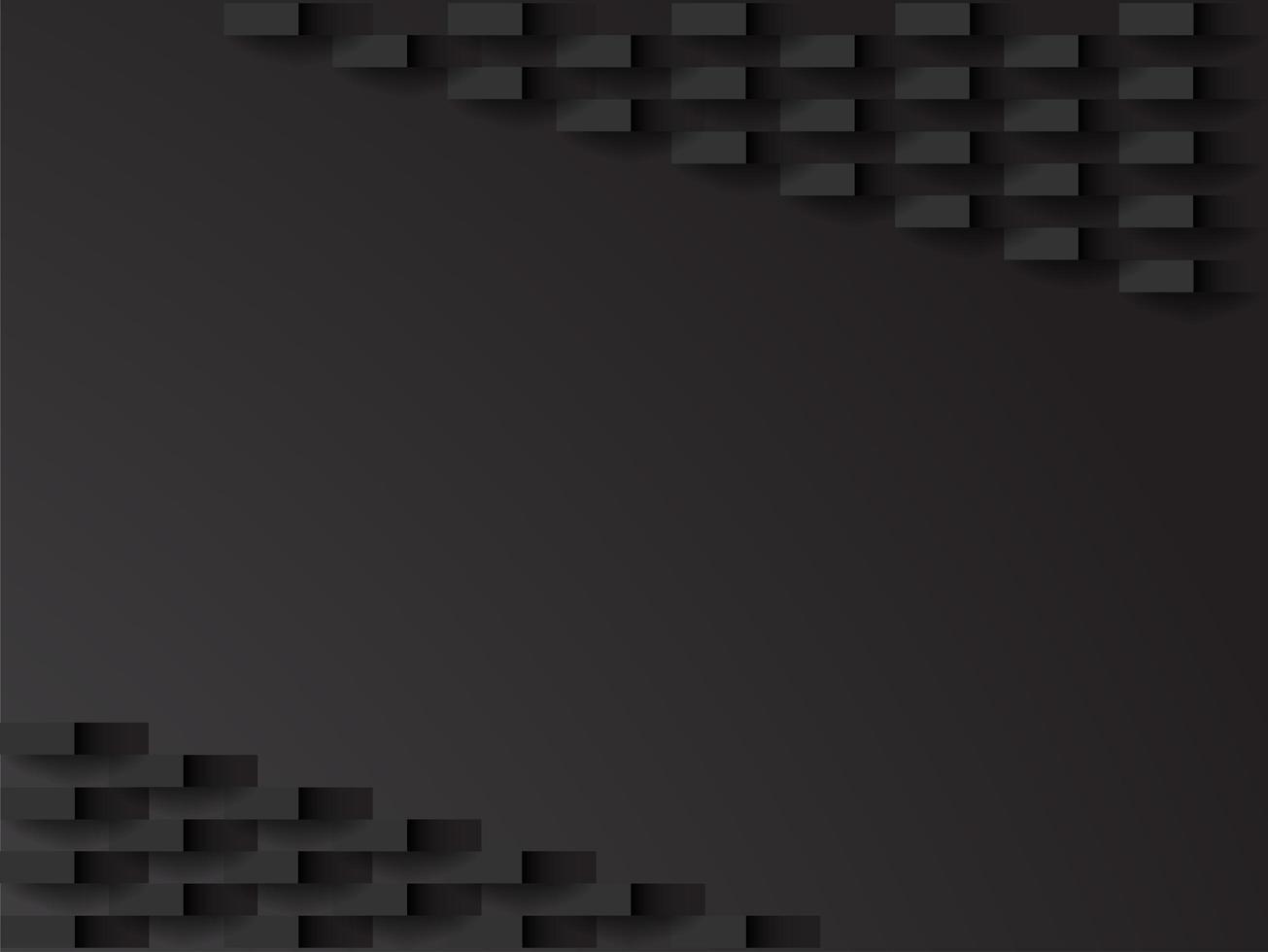 Diagonale zwarte achtergrond vector