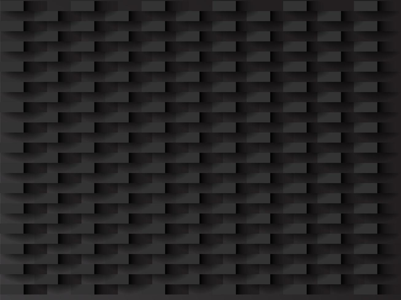 Geometrisch zwart patroon vector
