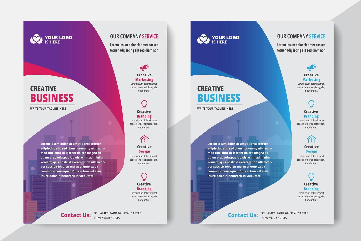 Corporate Business Template vector