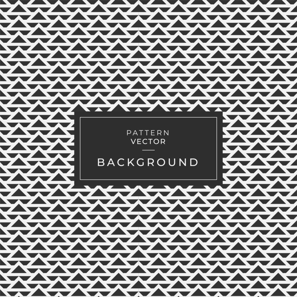 Geometric wave triangle pattern background vector