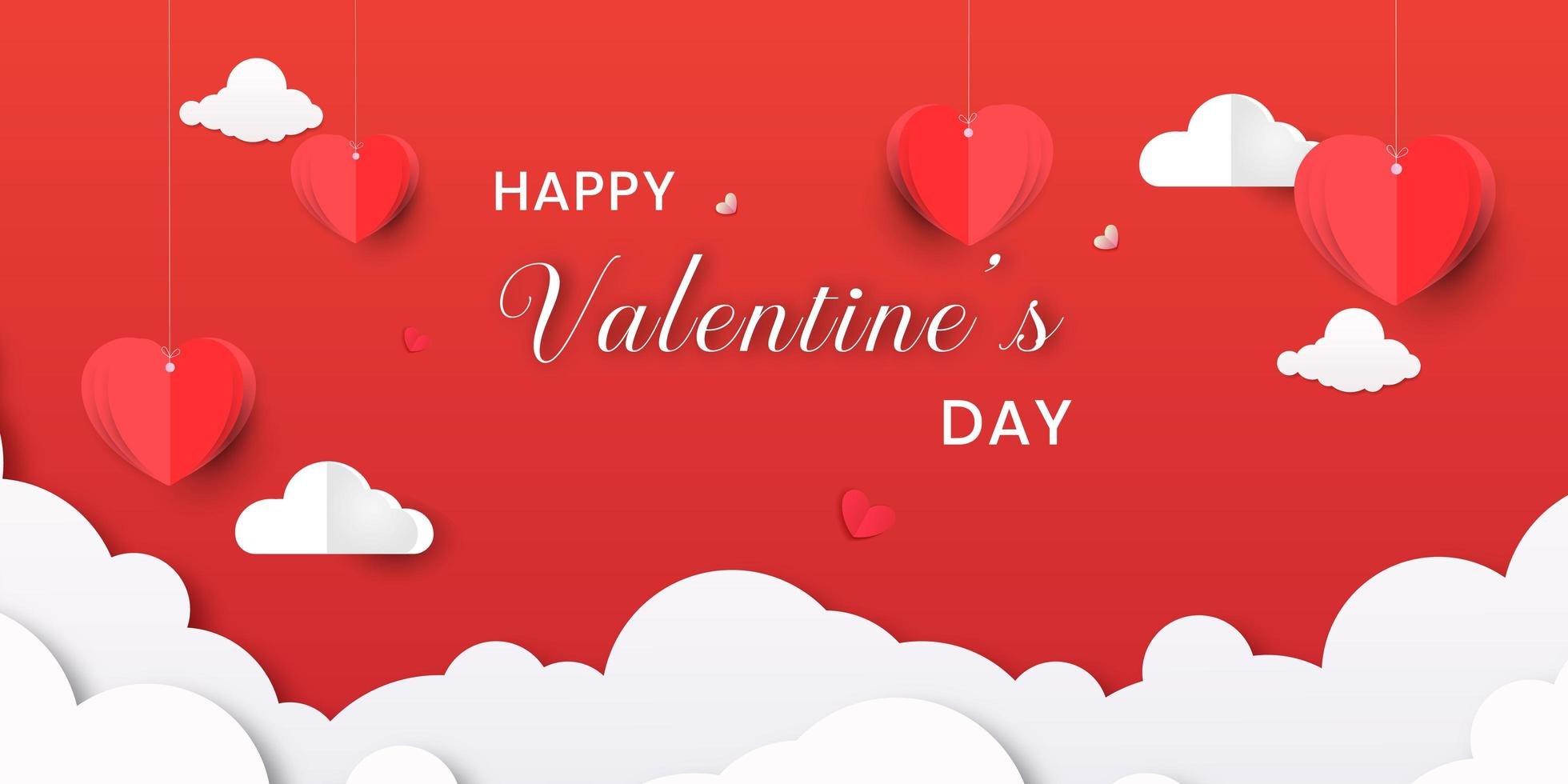 Valentine S Day Banner With Origami Hearts And Clouds Download Free Vectors Clipart Graphics Vector Art Choose any clipart that best suits your projects, presentations or other. https www vecteezy com vector art 695938 valentine s day banner with origami hearts and clouds