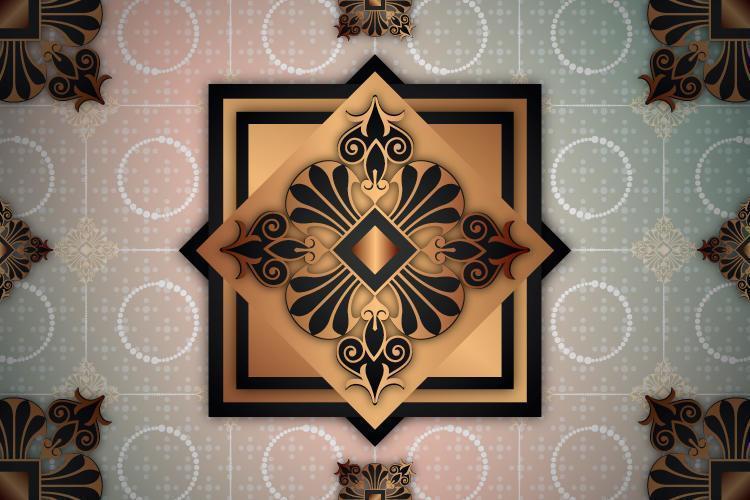 Fondo de patrón ornamental vector
