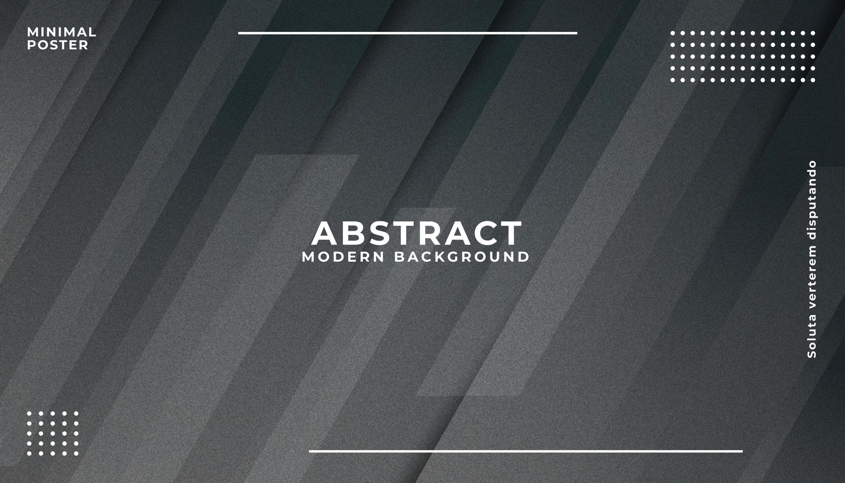 Fondo geométrico abstracto negro vector