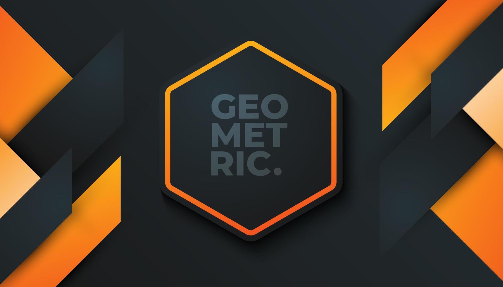 Fondo geométrico mínimo vector
