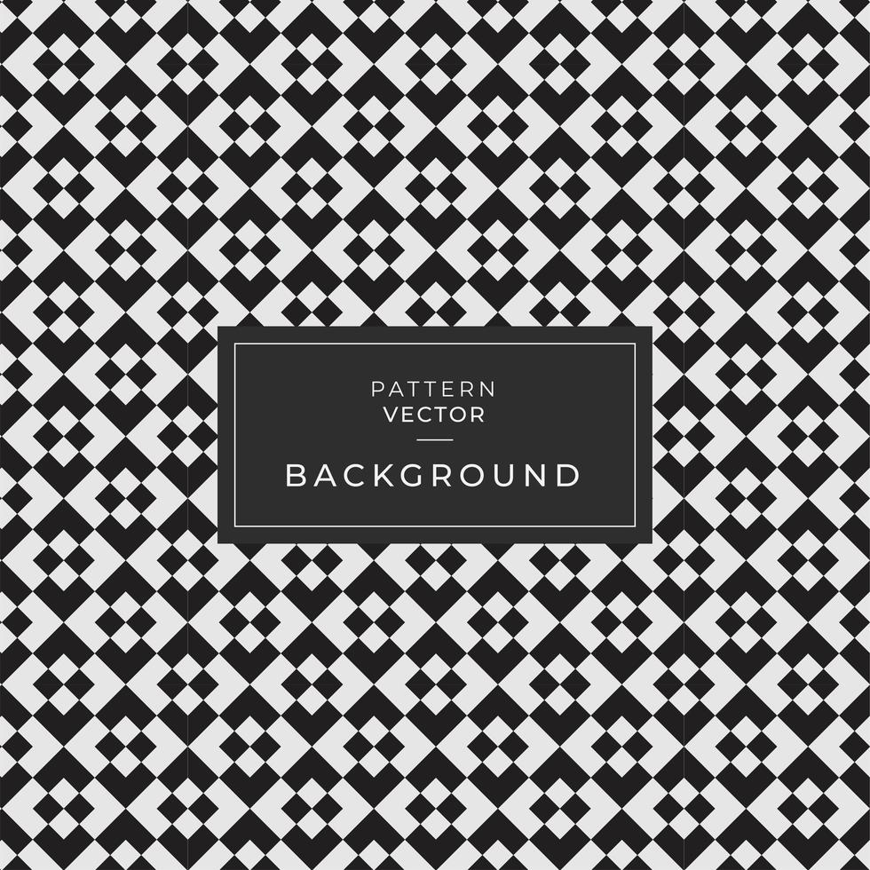 Abstract Seamless Black Geometric Pattern  vector