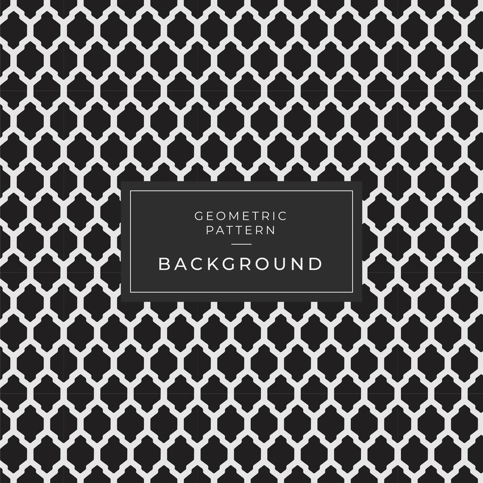 Background with Seamless Pattern in Arabic Style vector
