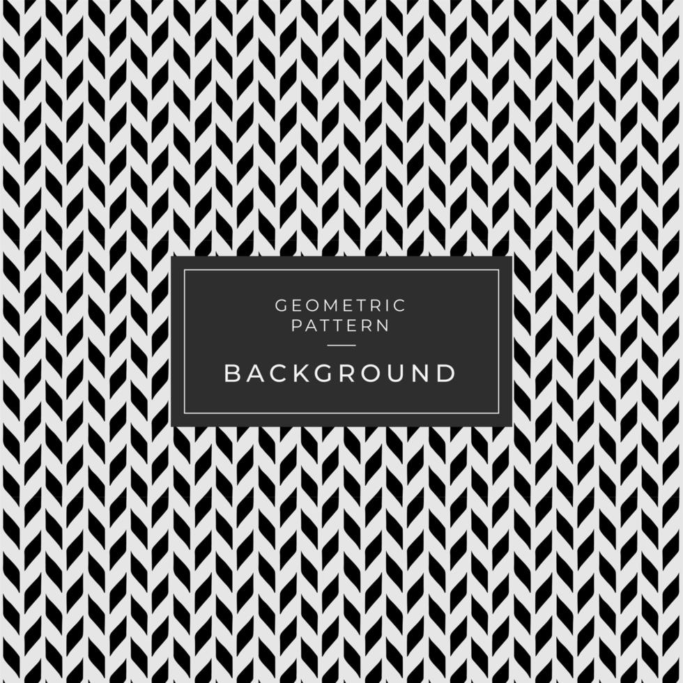 Seamless Black and White Abstract Background vector