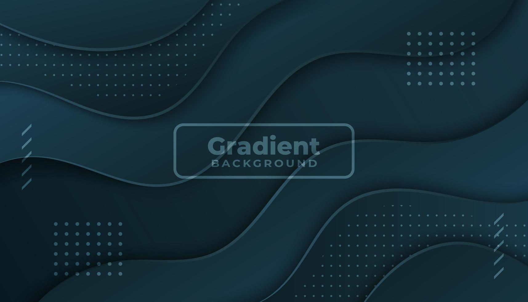 Dark Background with Overlapping Wavy Layers
