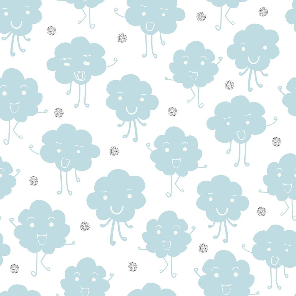 Cloud Character Pattern