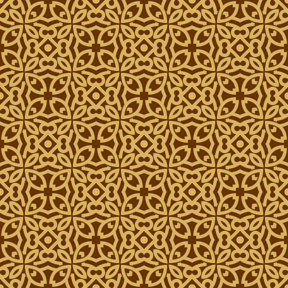 Tan and Brown Geometric Pattern vector