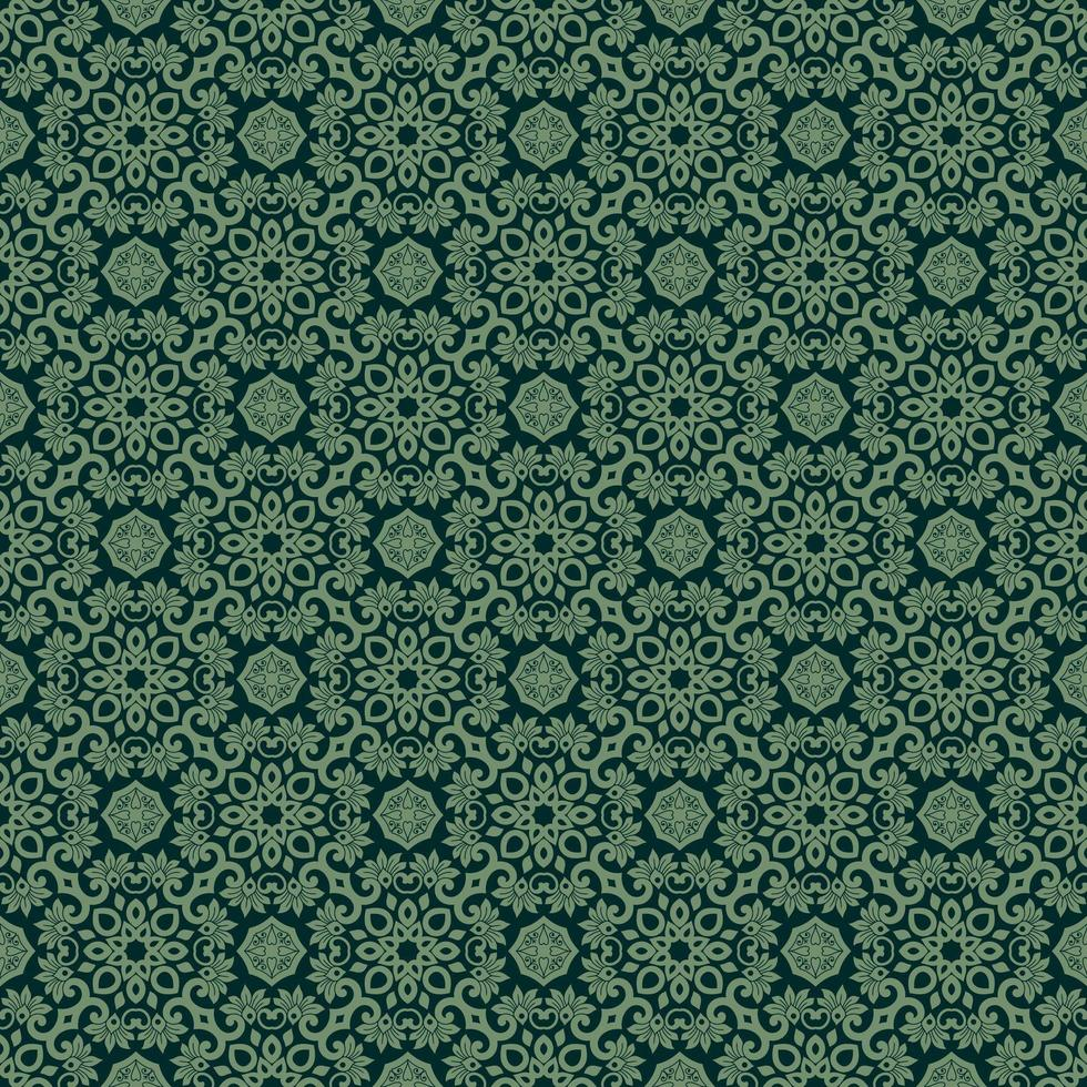 Green with Lighter Green Details vector