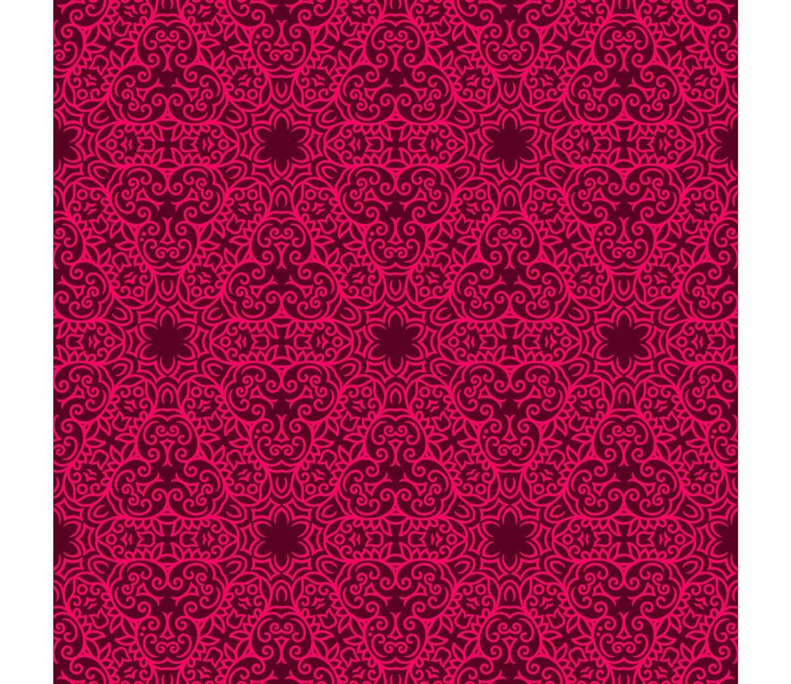 Maroon and Bright Pink Geometric Pattern vector
