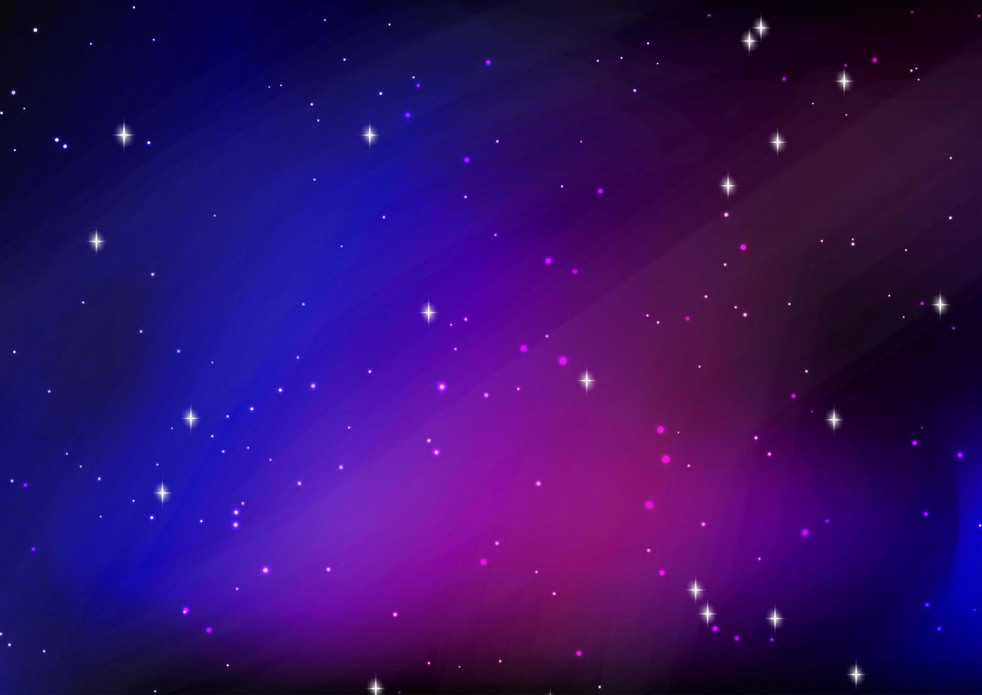 diseño abstracto del cielo nocturno estrellado vector