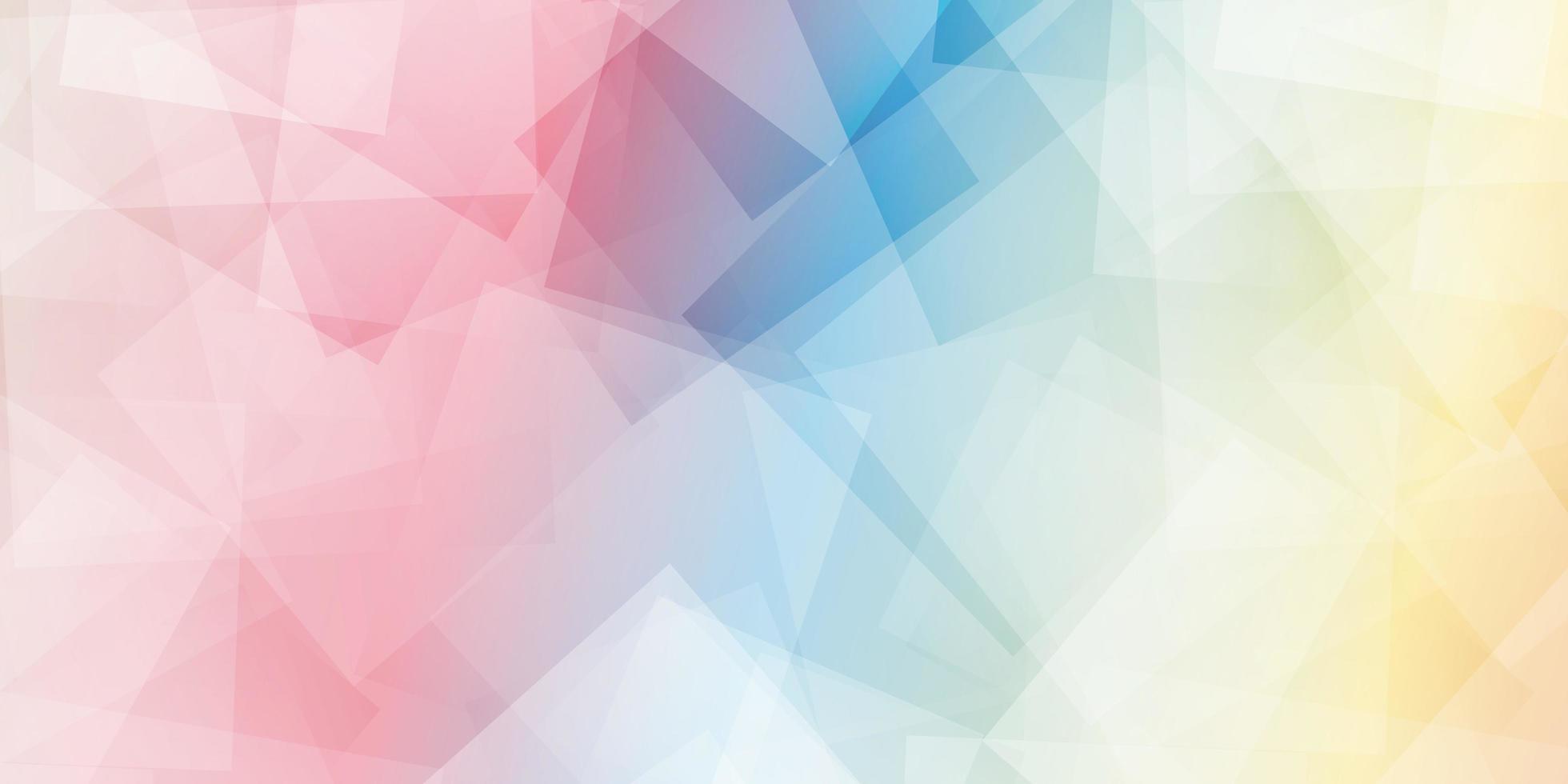 forma geométrica de fondo abstracto poligonal vector