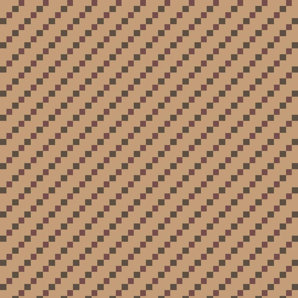 Brown and Green Repeating Diamond Pattern vector