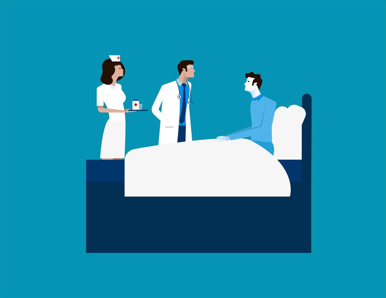 Doctor Healthcare Hospital Workers vector