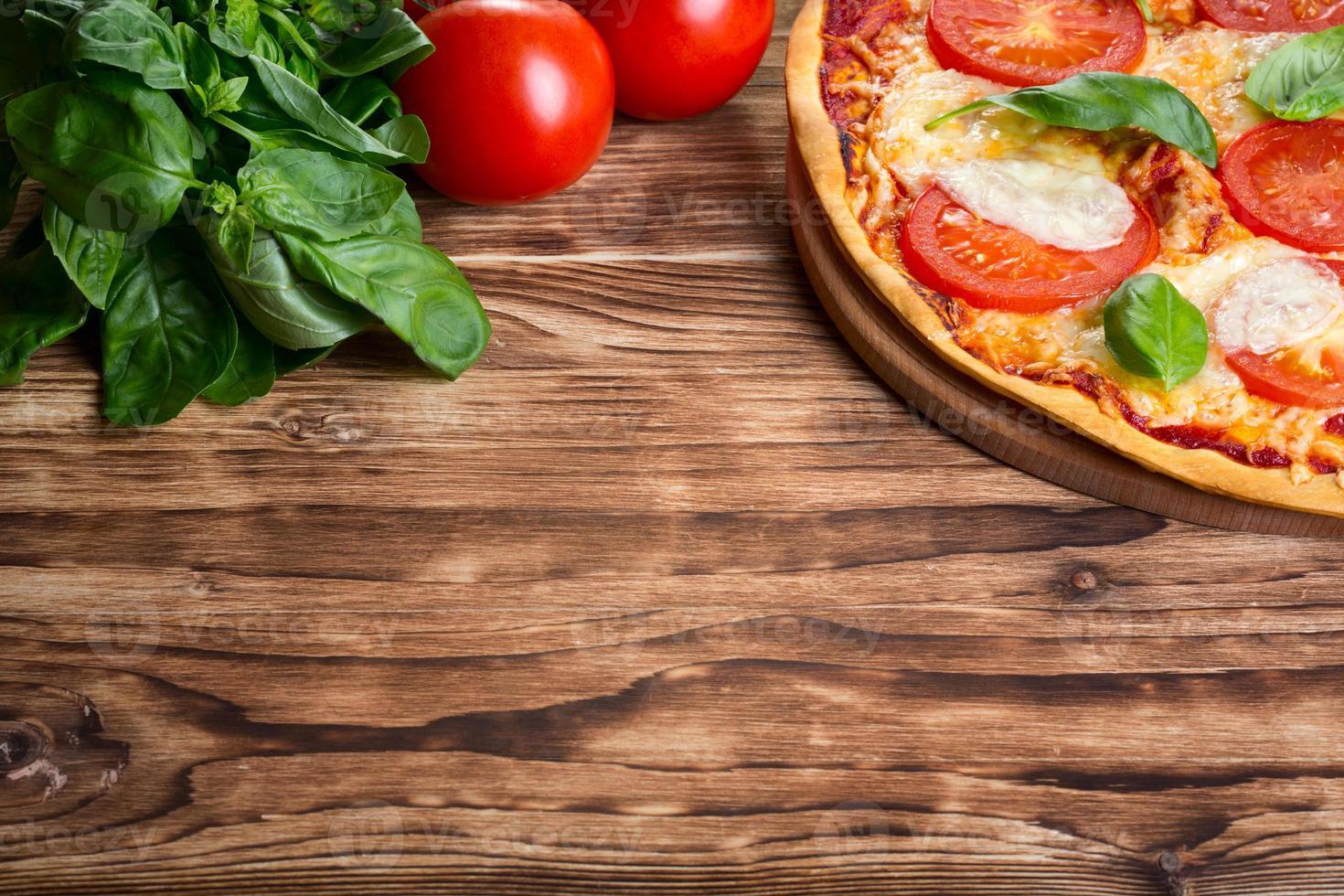 Pizza Margarita photo