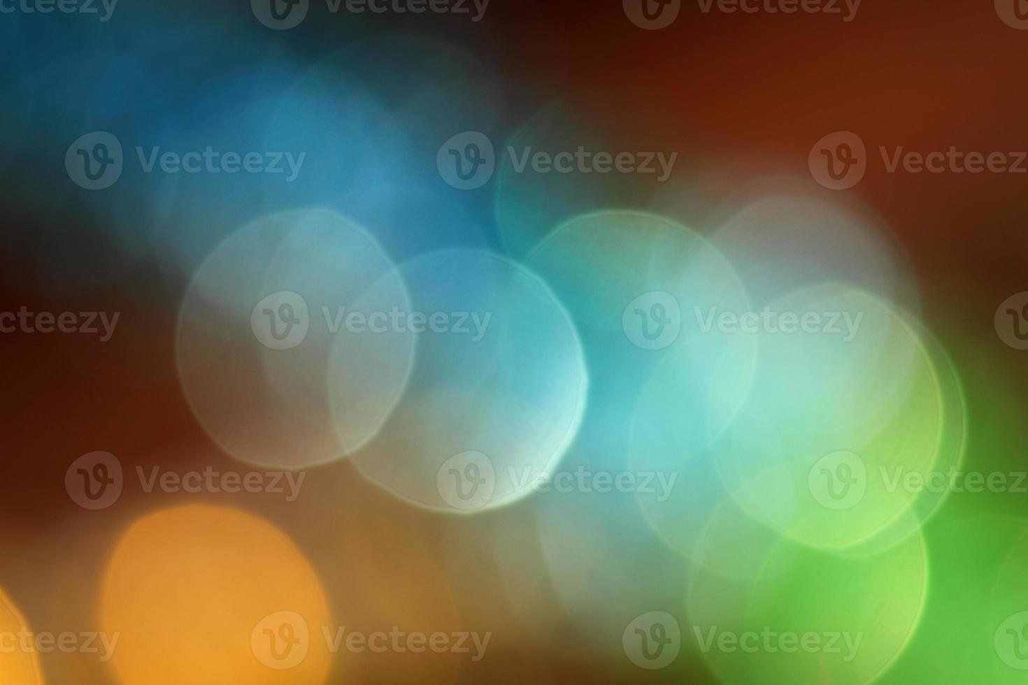 increíble bokeh de luces de navidad foto