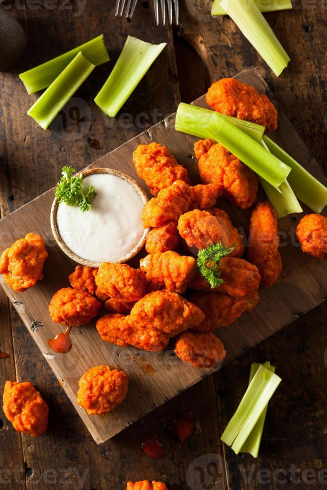 Hot and Spicy Boneless Buffalo Chicken Wings photo