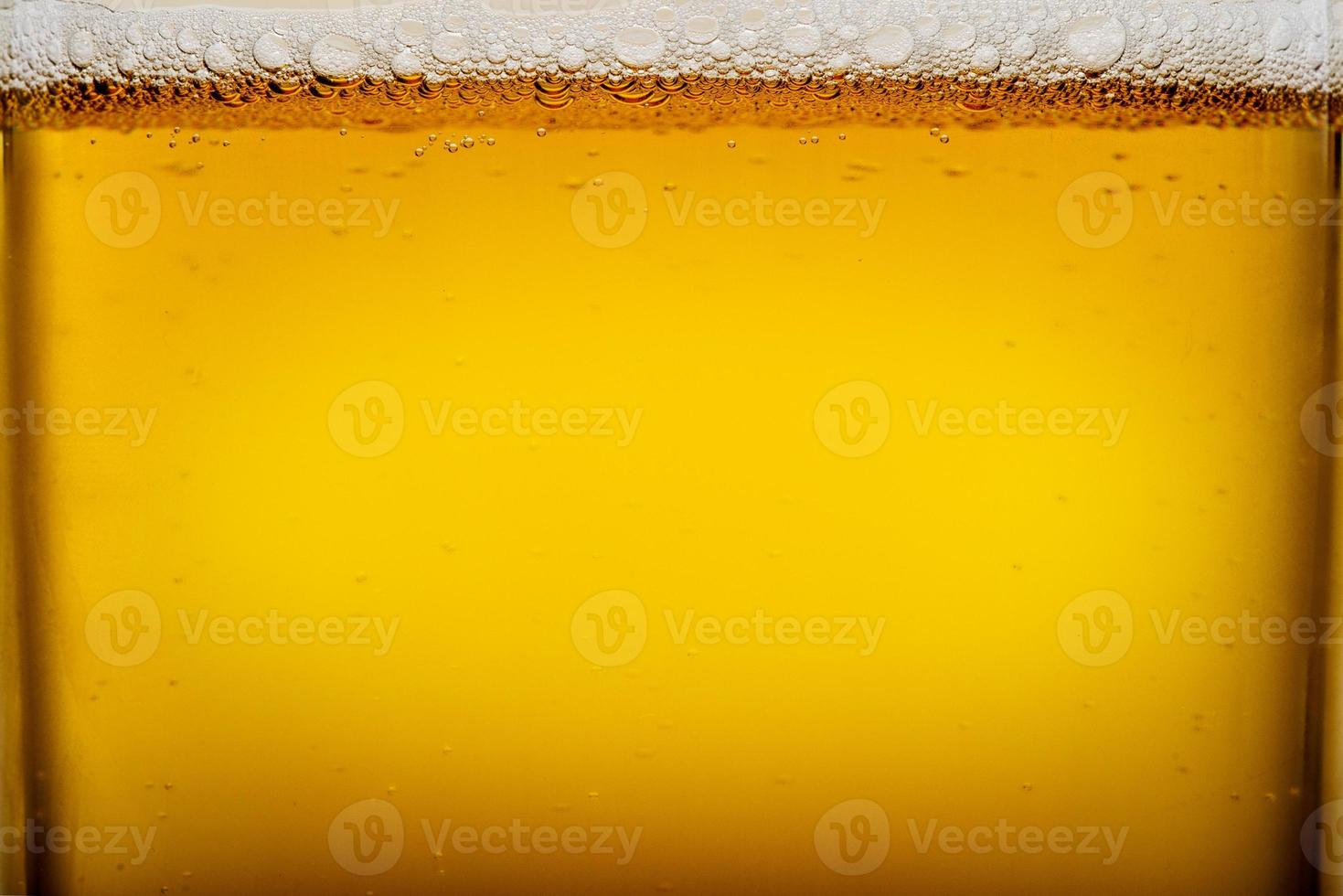 Beer glass close up photo