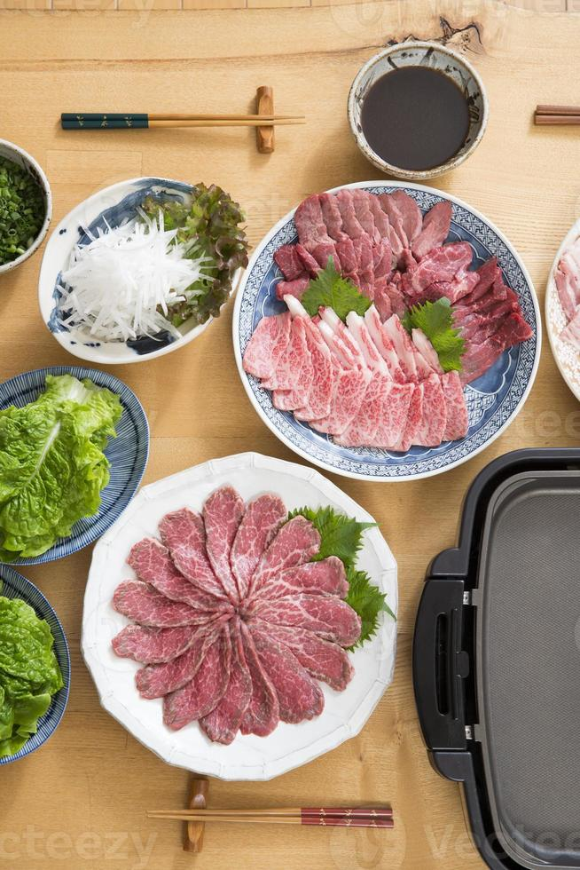 Grilled meat photo